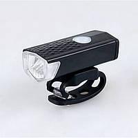 """Передняя велофара с аккумулятором ,яркий велосипедный фонарь """"Power Light"""" на руль"""