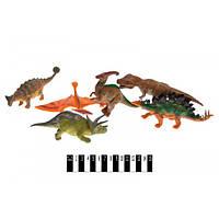 Динозавры набор, Набір динозаврів 6шт. KL7-006A динозаврики