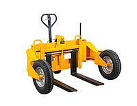 Тележка палетная Noblelift RTT12 - вездеходная гидравлическая тележка для бездорожья грузоподъемностью 1200 кг