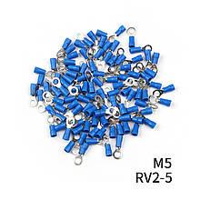 Наконечники кольцевые с изоляцией RV (1,5-2,5) RV 2- 5