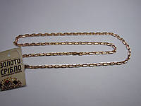 Цепь золотая, вес 22,62 грамм, 57 см, б/у. Якорное плетение
