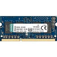 Модуль памяти для ноутбука SoDIMM DDR3 2GB 1333 MHz Kingston (KVR13S9S6/2), фото 1
