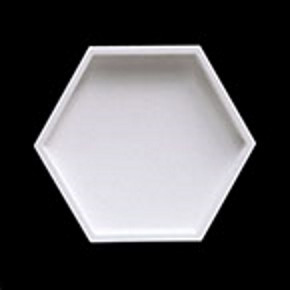 3Д панель Сота  Корзина из гипса