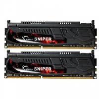 Память DDR3 8G KIT(2x4G) 1600MHz G.SKILL SNIPER 1.35V 9-9-9-24 (box)