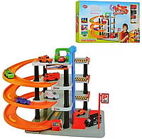 Детский многоуровневый гараж Мега парковка 0849