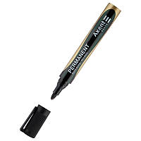 Маркер Axent Permanent D2603, 2 мм круглый черный