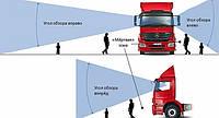 Сколько видит водитель грузовика?
