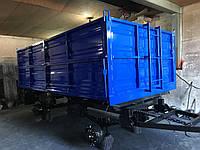 Реставрация тракторных прицепов 2ПТС-4 2ПТС-6 1ПТС-9