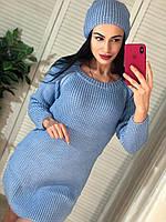 Платье- туника + шапка, фото 1
