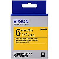 Лента для принтера этикеток EPSON LK2YBP (C53S652002)