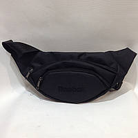Поясная сумка  Reebok / Рибок (реплика) черного цвета, фото 1
