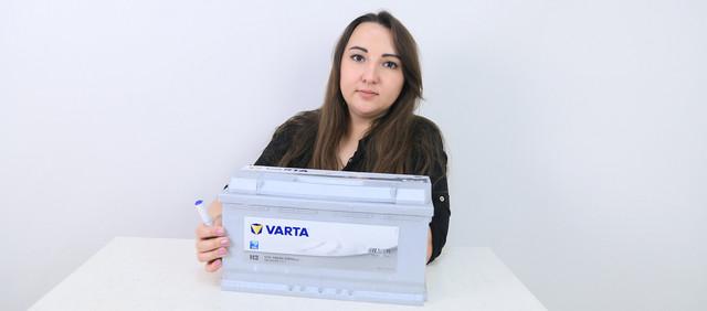 Аккумулятор VARTA 6СТ-100 Silver Dynamic (H3)