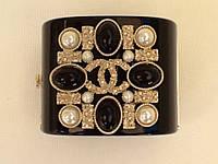 Браслет Chanel широкий с камнями Swarovski , жемчугом ., фото 1