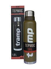 Термос Tramp 1,6л. Expedition Line оливковий TRC-029-olive. Термос трамп