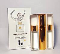 Подарунковий набір Amouage Honour Woman 3 по 15 мл (амуаж хнор вумен) (репліка)