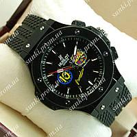 Часы мужские Hublot Barcelona Black 1237 механика с автоподзаводом