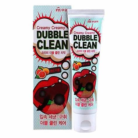 Зубная паста «Mukunghwa» Кремовая с очищающими пузырьками и экстрактом красного грейпфрута 110 г (902410), фото 2