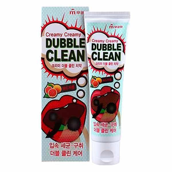 Зубная паста «Mukunghwa» Кремовая с очищающими пузырьками и экстрактом красного грейпфрута 110 г (902410)