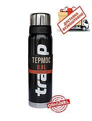 Термос Tramp 0.9л. Expedition Line TRC-027 черный. термос трамп