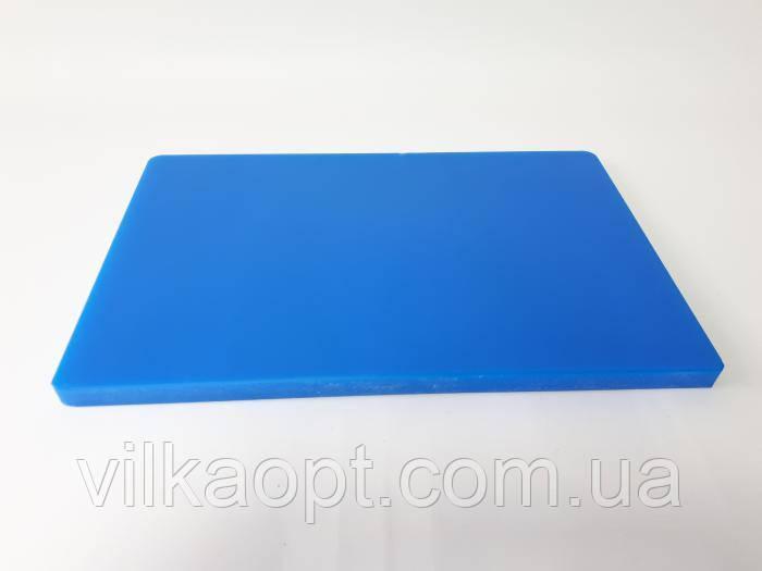 Доска разделочная пластмассовая 44,5*30 cm, t=2 cm.