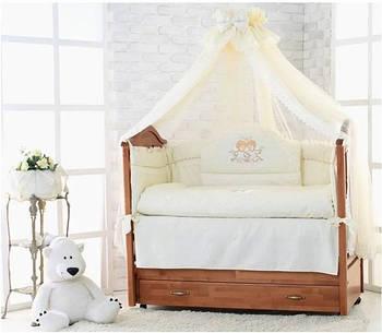 Детские постельные комплекты в кроватку Элит Люкс