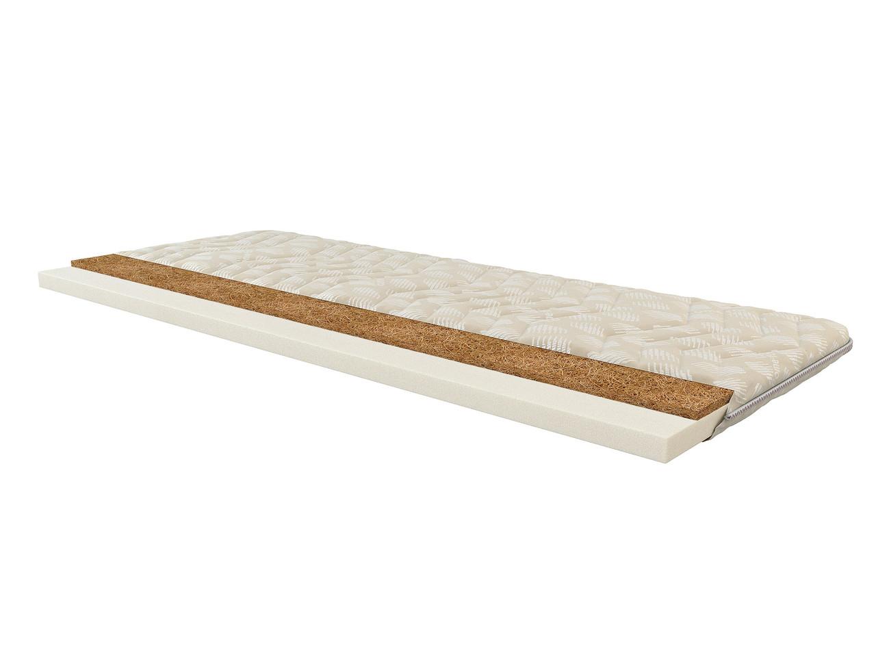 Тонкий ортопедический матрас (футон) Тайм  (для диванов и кроватей) топпер 160*190