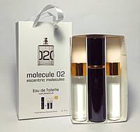 Escentric 02 Escentric Molecules (молекула 02) парфум в наборі 3 по 15 ml(репліка)