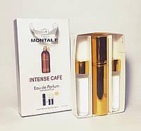 Подарунковий набір унісекс Montale Intense Cafe (Монталь Інтенс Кафе) 3 по 15 мл (репліка)
