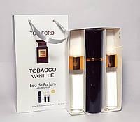 Tom Ford Tobacco Vanille (том форд тобако ваніль) парфум унісекс в подарунковій упаковці 3 по 15 мл (репліка)