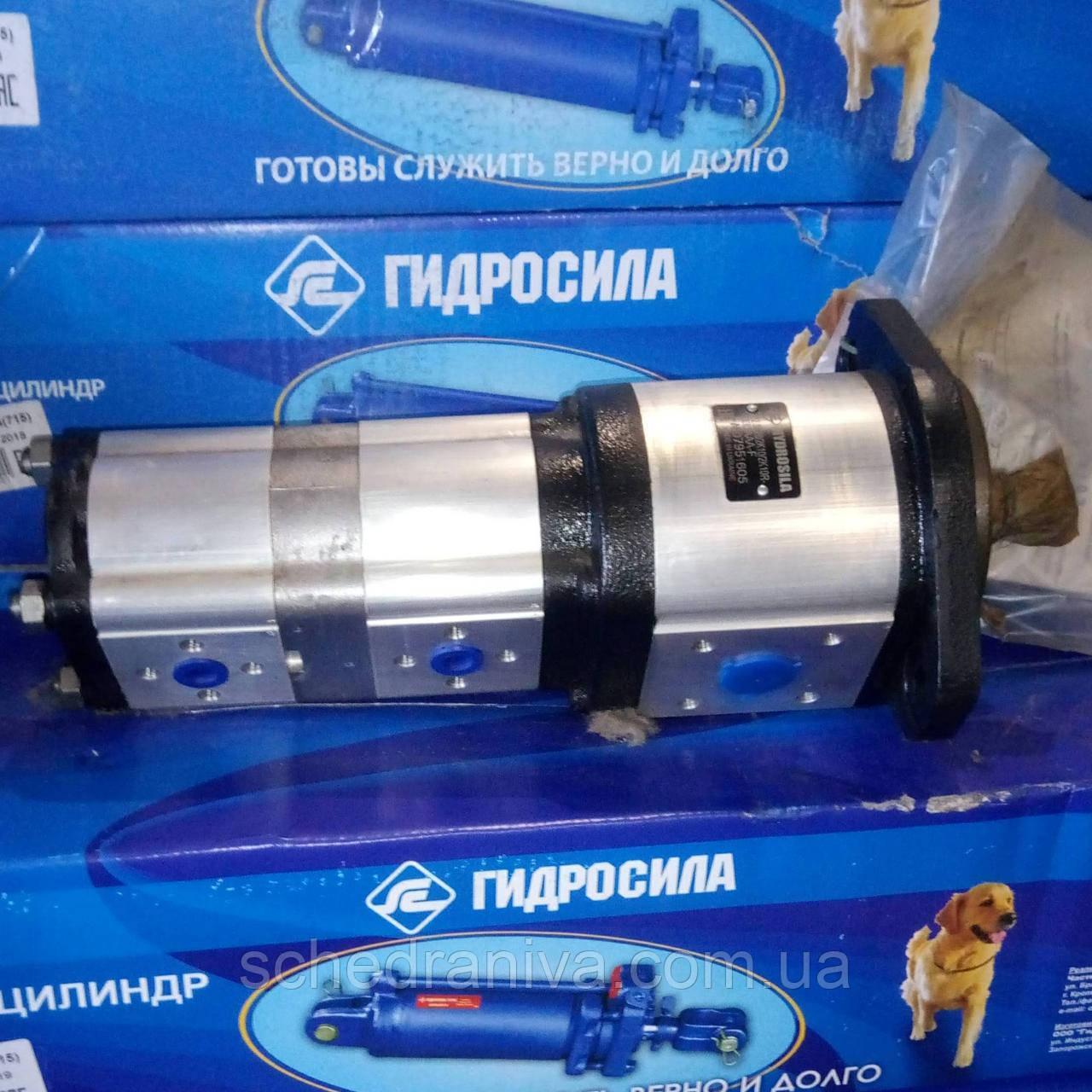 Насос тандем шестерневий GP2.5K28/2K10/2K10R (НШ 28Д-10Д-10Д-3) п-во Гідросила