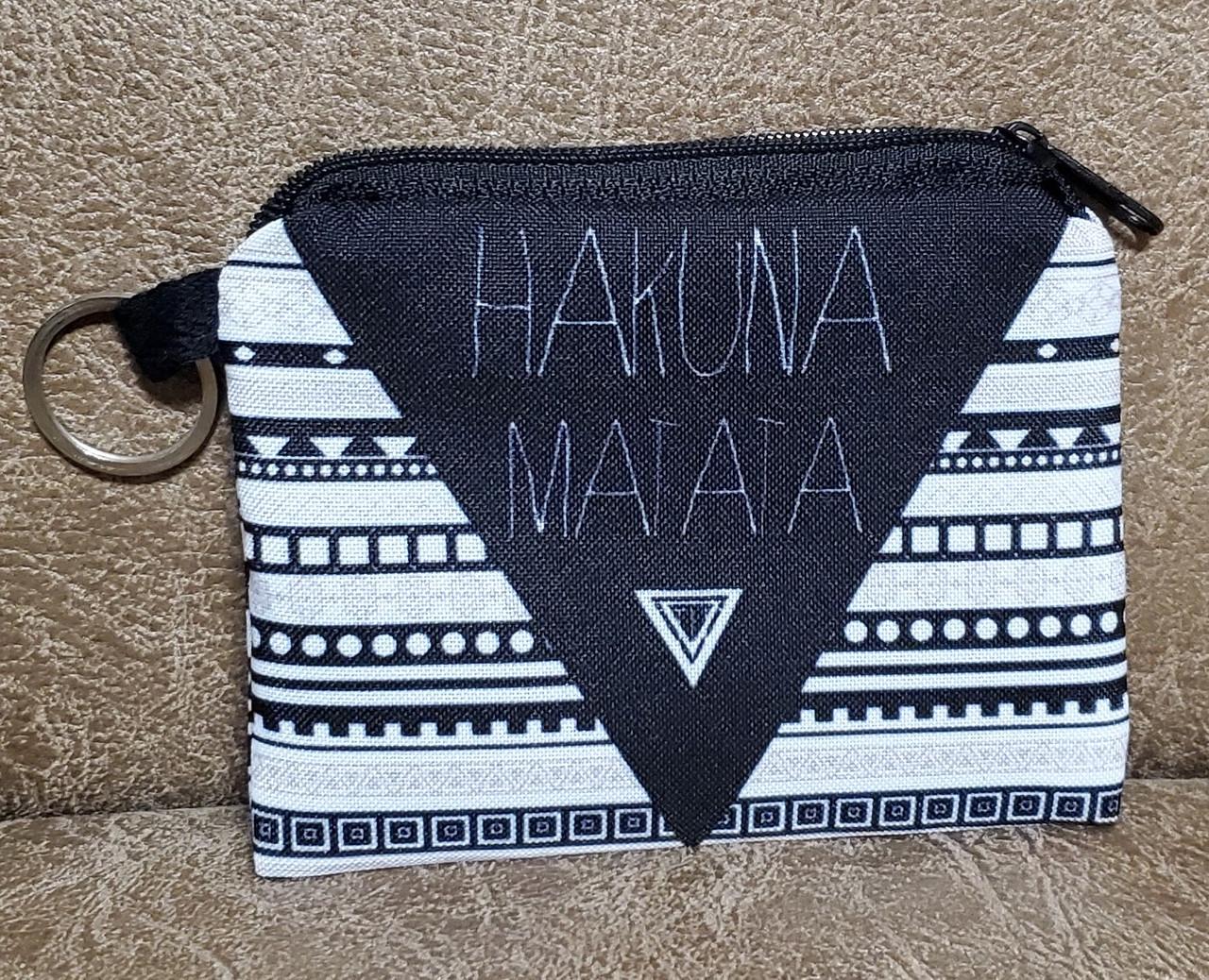 """Дитячий гаманець """"Hakuna matata"""" на блискавці (11.5*9*1)"""