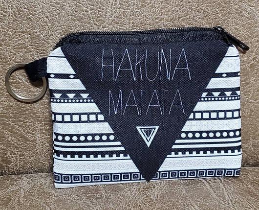 """Дитячий гаманець """"Hakuna matata"""" на блискавці (11.5*9*1), фото 2"""
