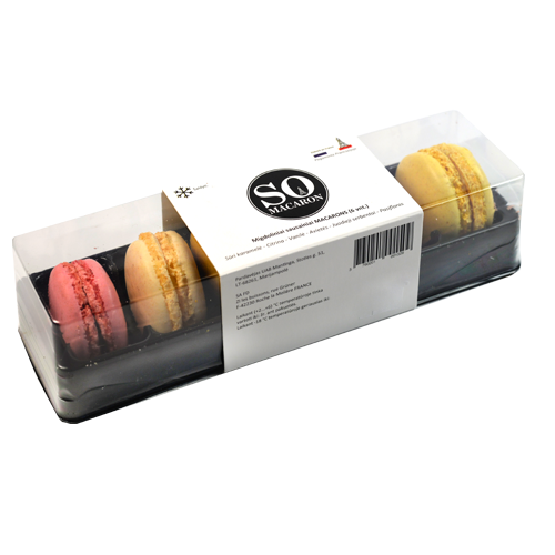 Миндальное печенье  MACARONS (42УП-ЯЩ) )
