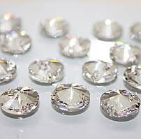 Пришивные Сваровски арт 3200. Crystal 14mm