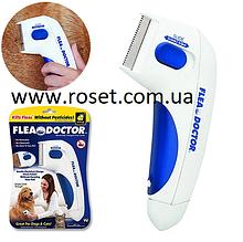 Електрична гребінець від бліх для котів і собак Flea Doctor