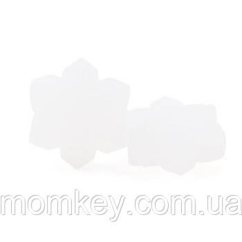 Снежинка (белый-матовый)