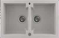 Кухонная мойка Kernau KGS A 80 2B NATURAL BEIGE