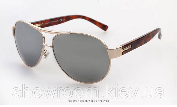 Солнцезащитные очки в стиле Gucci (1924) зеркальная линза