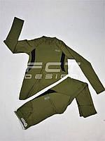 Термобелье спорт костюм ESDY хаки