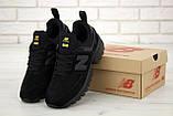 Мужские кроссовки New Bаlance 574 Sport V2 в стиле Нью Беланс ЧЕРНЫЕ (Реплика ААА+), фото 2