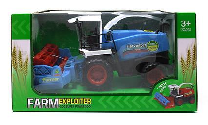 Інерційний трактор в коробці 28х20х15см