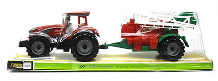 Інерційний трактор в слюді 47.5х12х14см