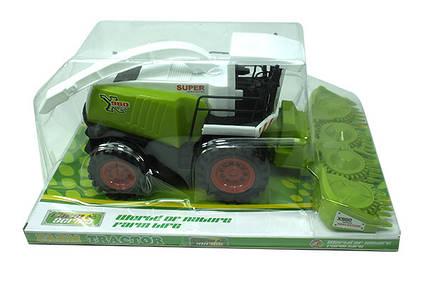 Інерційний трактор в слюді 41х18,5х26см