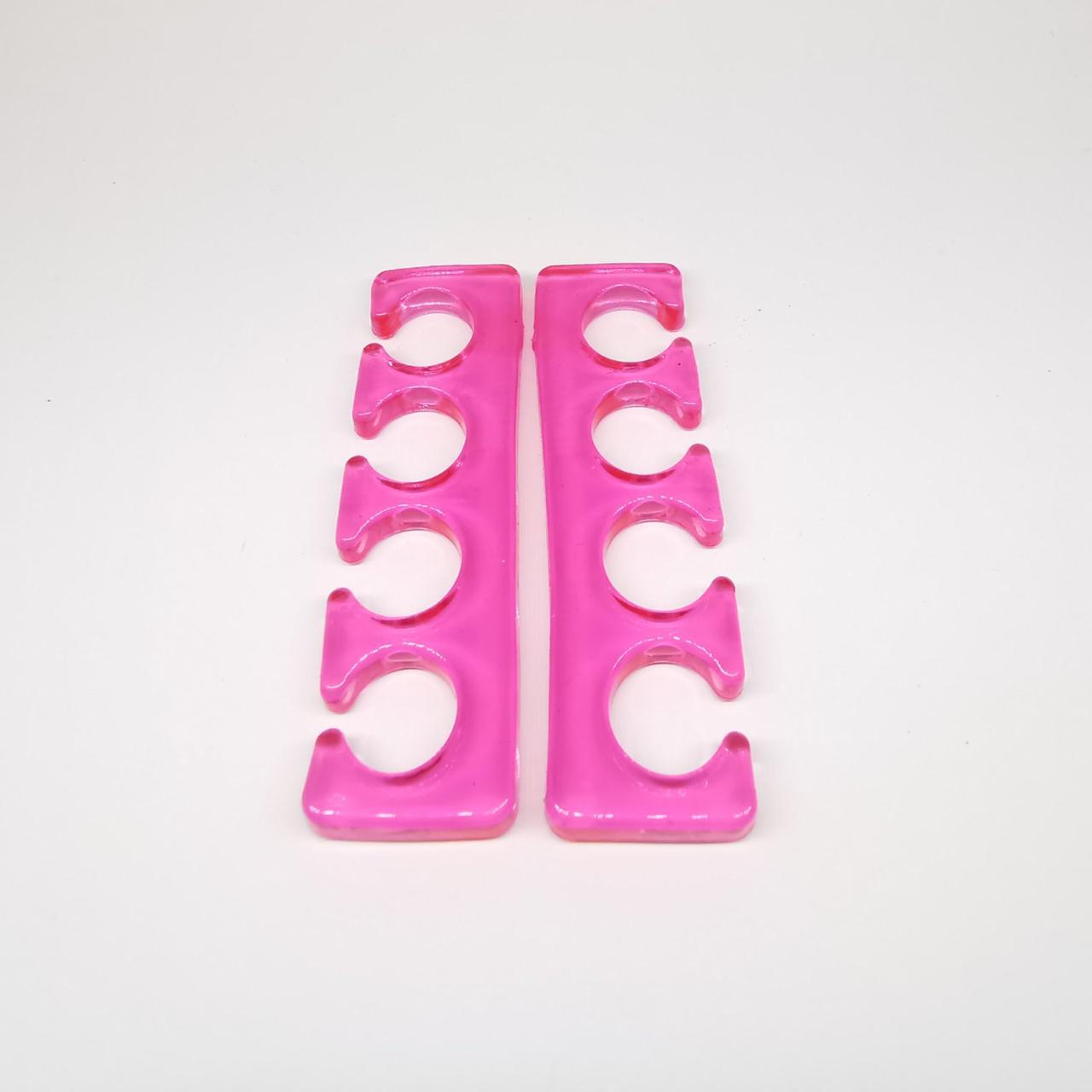 Разделитель пальцев силиконовый ( розовый)
