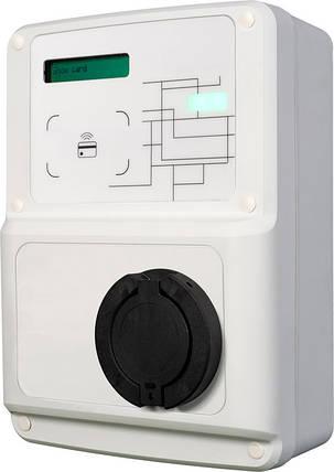 Станція для зарядки електромобілів CCL-WBC32-SMART 7.4 кВт 230В 32A Type1 кабель 5м, фото 2