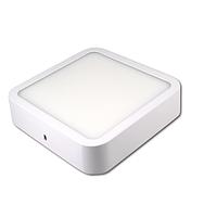 Потолочный светодиодный светильник, master LED, 18W, 4000K, накладной, Ortho, алюминий, квадратный, белый.