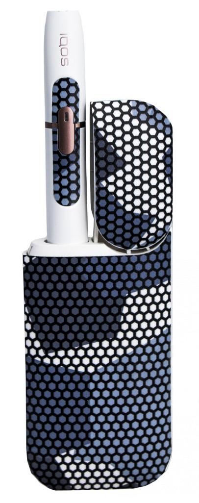 Наклейки NZY для IQOS2.4 Plus Камуфляж Серый (328582)