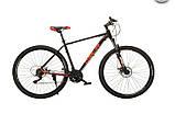 """Велосипед Oskar 29"""" M126 чорний, фото 2"""
