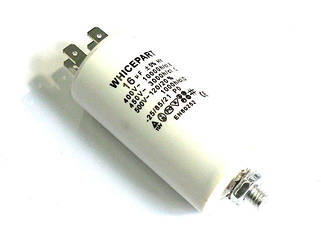 Конденсаторы электрические в пластиковом корпусе
