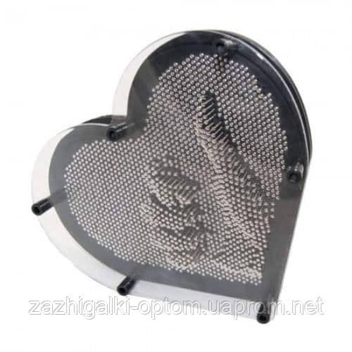 Цвяхи ART-PIN Серце L метал
